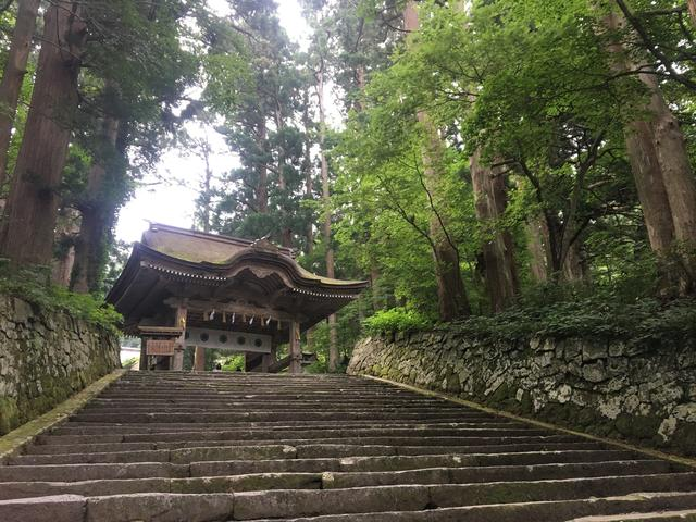 画像: 大神山神社奥社 奥宮