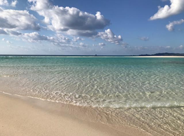 画像: はての浜(上陸して撮影)