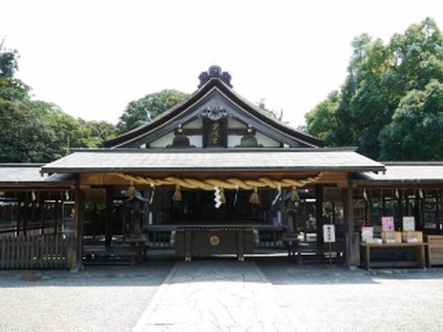 画像: 宗像大社 辺津宮(写真提供:九州観光推進機構)
