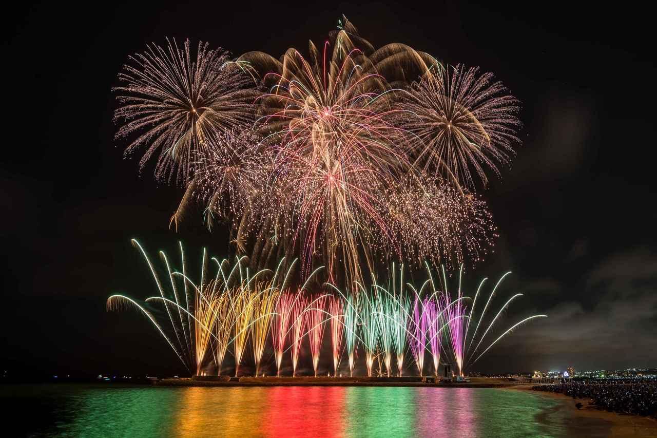 画像: JAL琉球海炎祭(※昨年の様子)