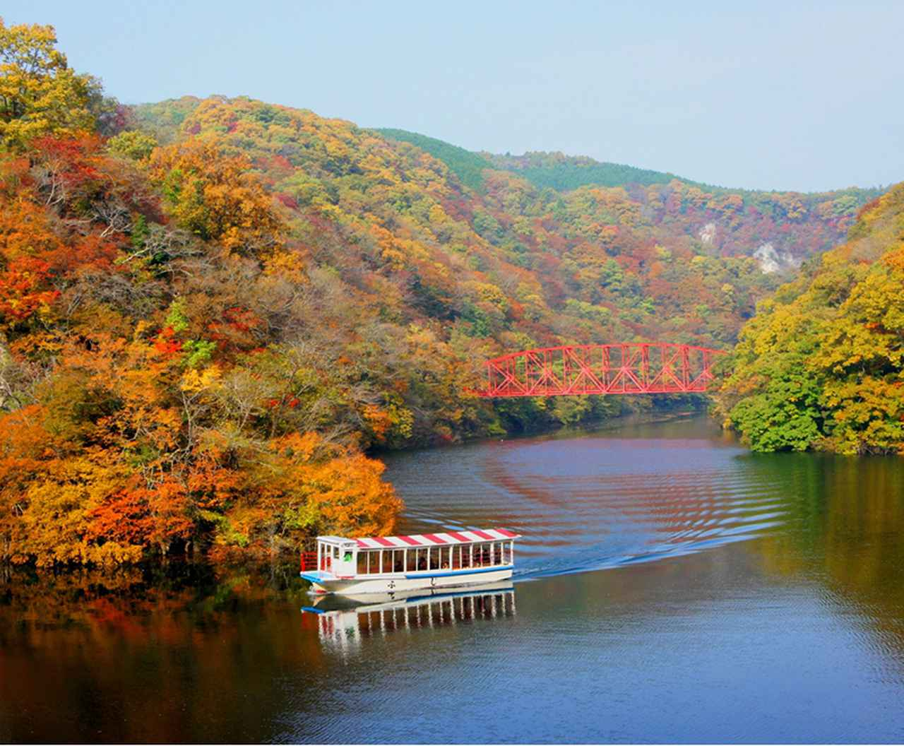 画像: 帝釈峡(神龍湖)の遊覧船(※イメージ)