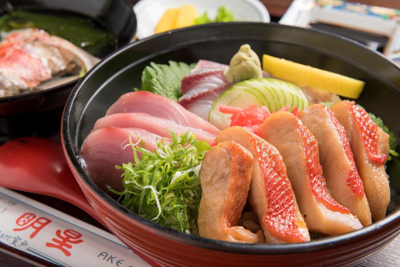 画像: 室戸で獲れた新鮮キンメ丼(イメージ)