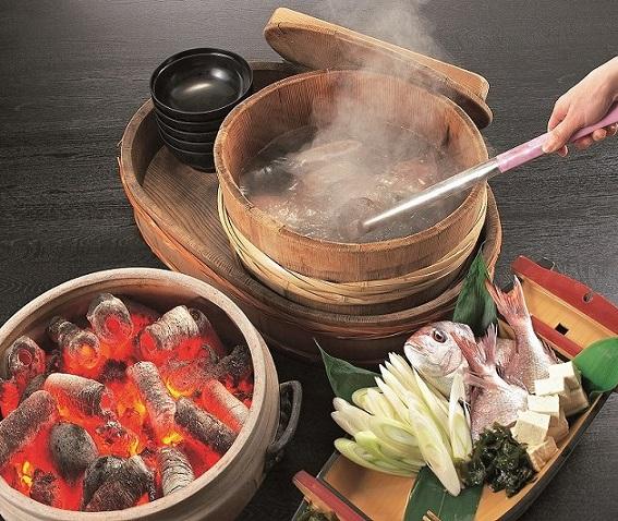 画像: 男鹿グルメを満喫!写真は石焼料理のイメージ