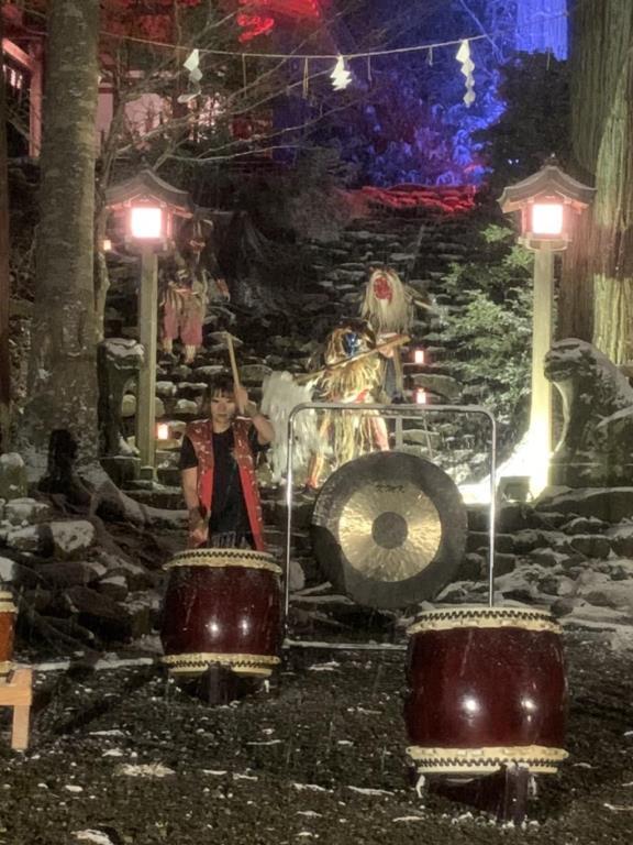 画像: クラブツーリズムイベント!なまはげ真山神社貸切ライトアップ
