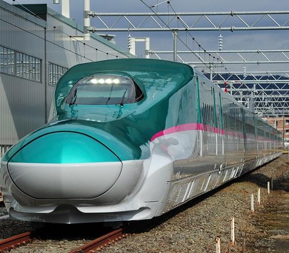 画像: 北海道・東北新幹線はやぶさ号(写真はイメージ)