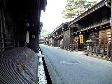 画像: 飛騨高山の街並み(イメージ)
