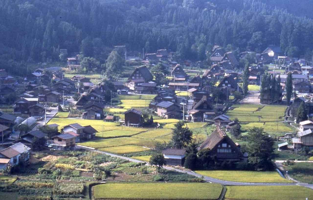 画像: 白川郷全景(イメージ)