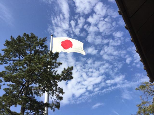 画像: 国旗掲揚塔