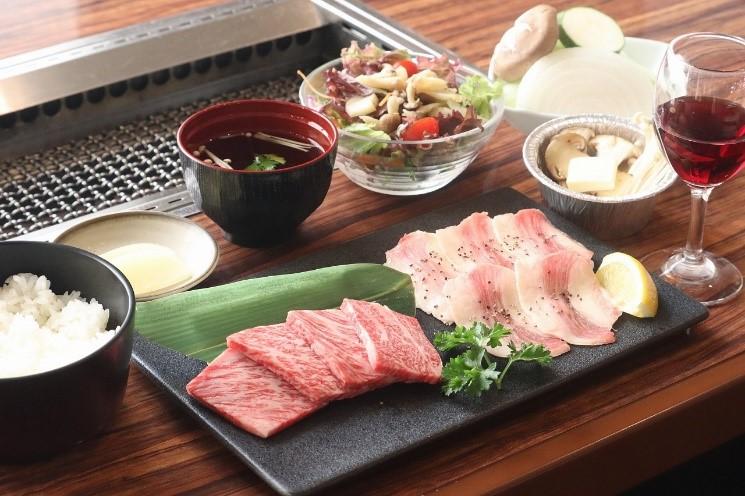 画像: 広島県産和牛のコース料理の昼食(イメージ)