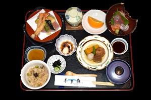 画像: 名物のたこ料理などある瀬戸内御膳の昼食(イメージ)