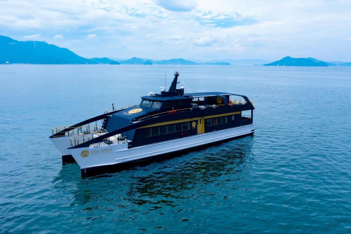 画像: 2020年夏 就航「SEA SPICA」で瀬戸内海の島たびクルーズ(イメージ)