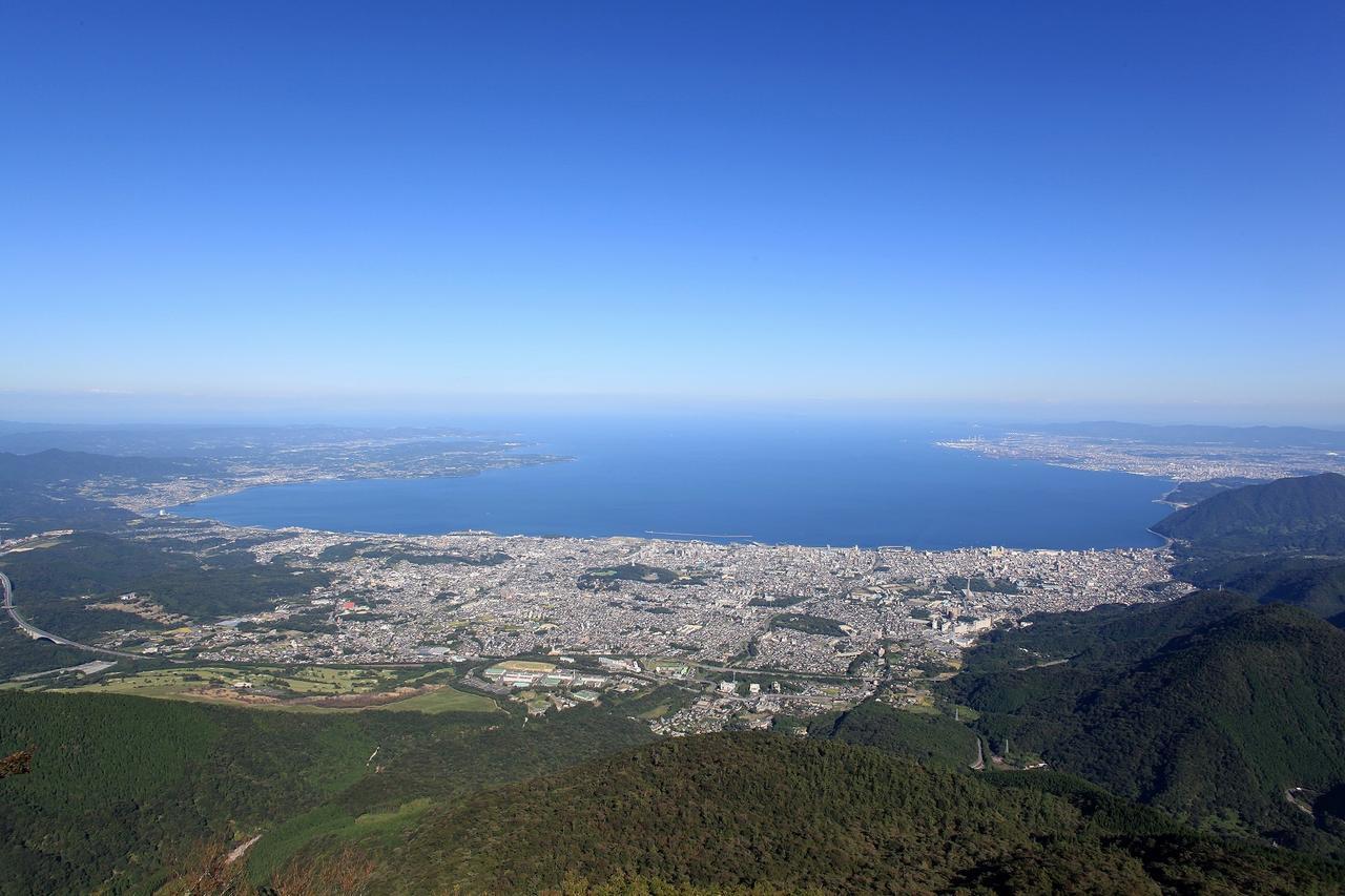 画像: 山上からの展望(イメージ/ロープウェー提供)