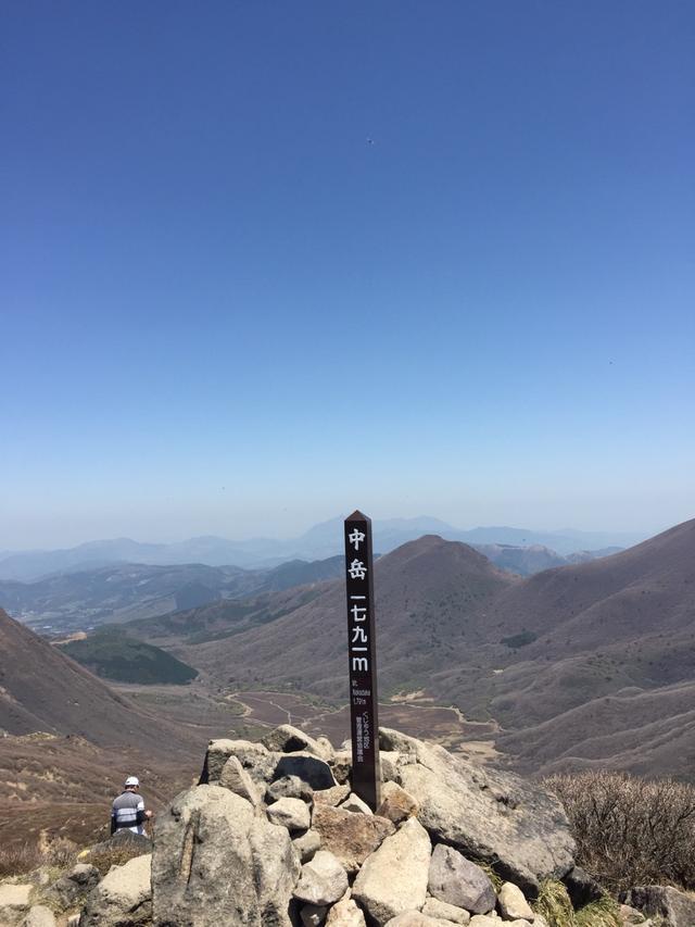 画像: 中岳山頂(イメージ)