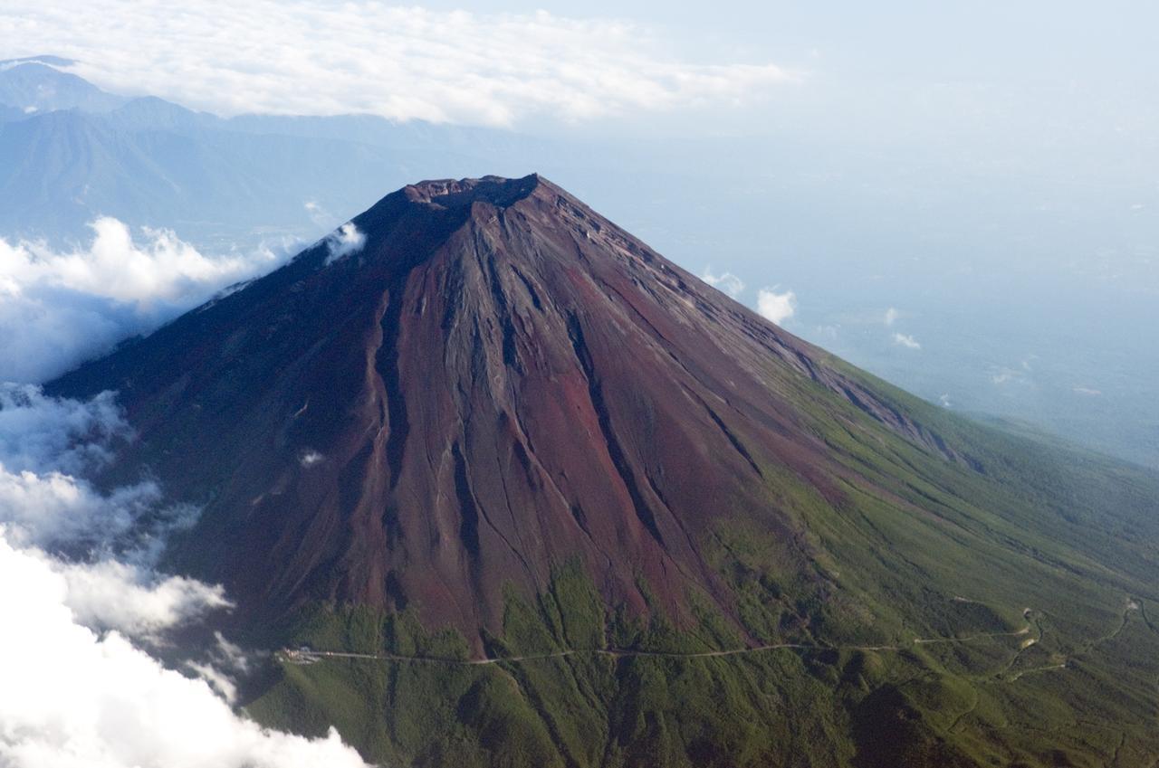 画像: 富士山(空撮/イメージ)