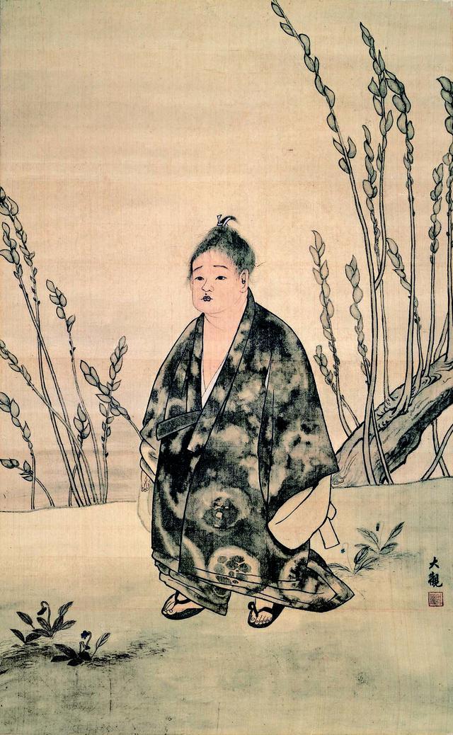 画像: 横山大観「無我」(明治30年)足立美術館蔵(イメージ)