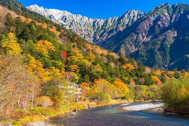 画像: 秋の上高地(イメージ)