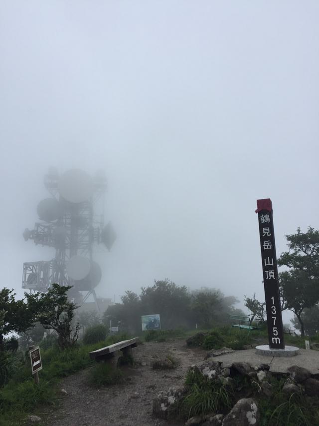 画像: 鶴見岳山頂(イメージ)
