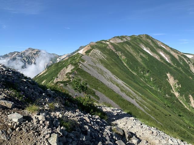 画像: 稜線を歩いていきます(イメージ)