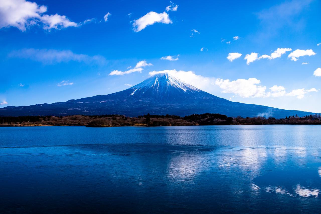 画像: 田貫湖と富士山(イメージ)
