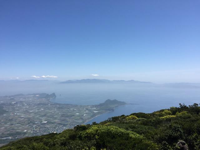 画像: 山頂からの景色。屋久島まで見渡す大展望(イメージ)