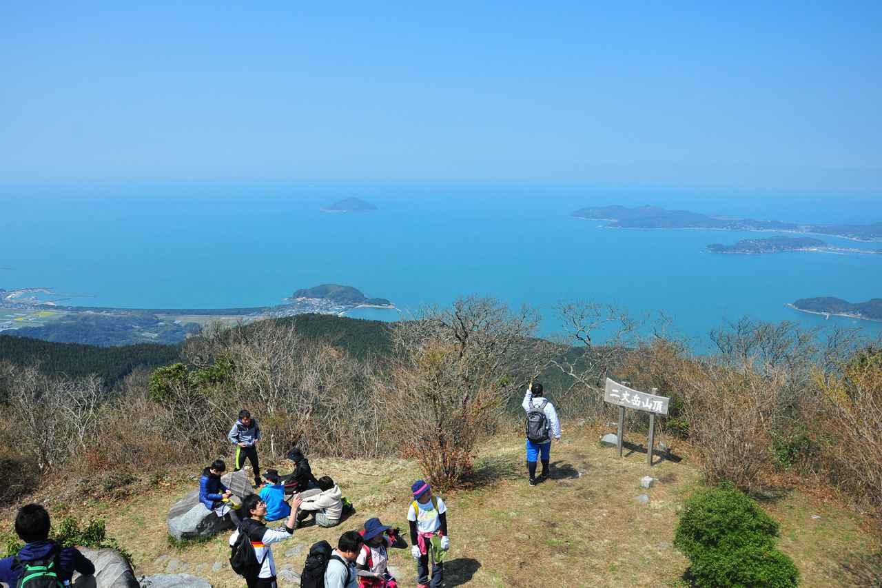 画像: 二丈岳山頂(イメージ/糸島市観光協会)