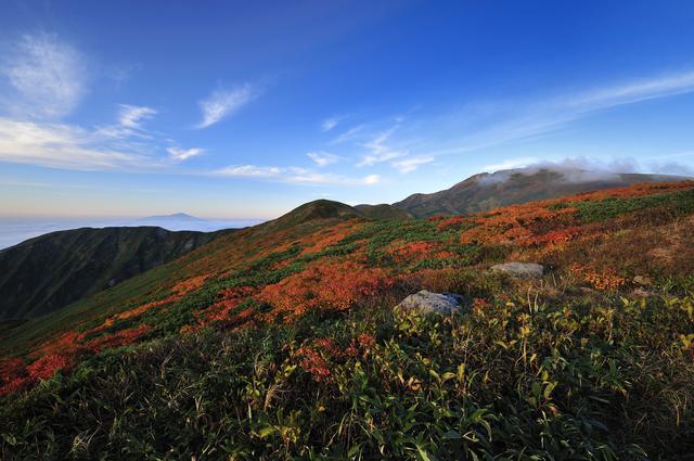 画像: 月山(例年紅葉の見頃は9月中旬~10月中旬)