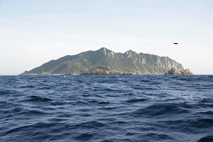 画像: 沖ノ島(イメージ) ※上陸はできません