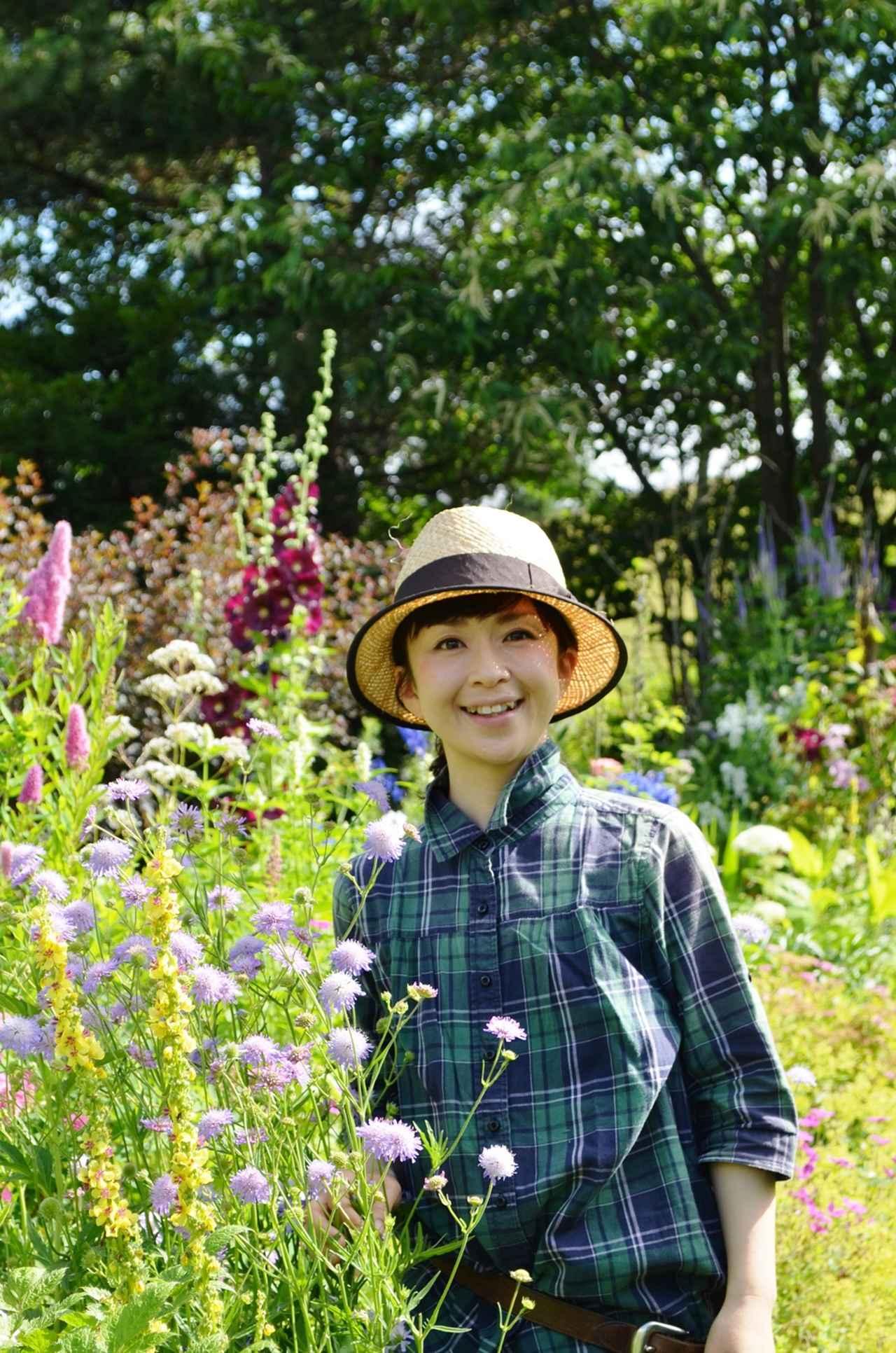 画像: 上野ファームの上野砂由紀さんをはじめ、紫竹ガーデンの紫竹昭葉さん、真鍋庭園の真鍋憲太郎さん、十勝千年の森のヘッドガーデナーの新谷みどりさんにもご案内頂きました。