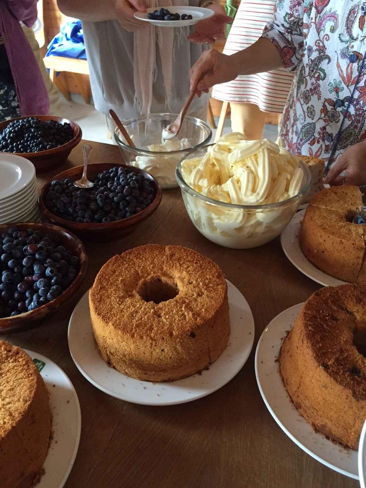 画像: 朝摘みのブルーベリーが美味しかったのです。