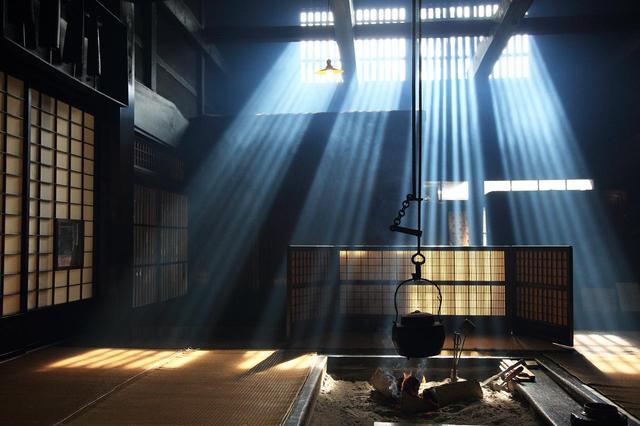 画像: 妻籠宿 光芒