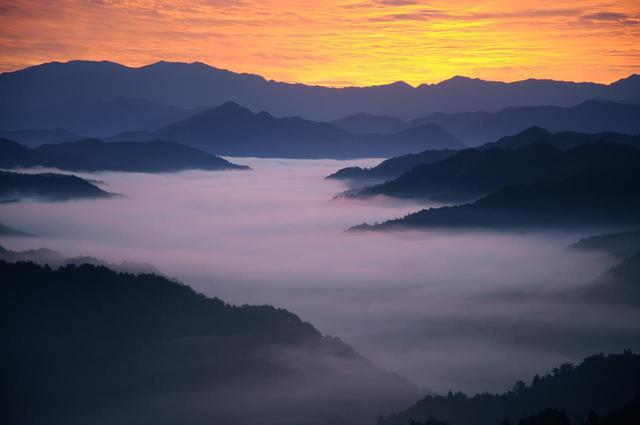 画像: 高野山 野迫川雲海