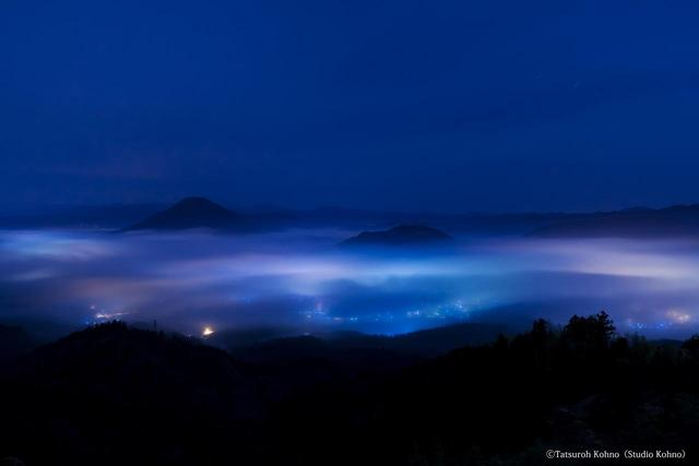 画像: 上流盆地の雲海(撮影/河野達郎)
