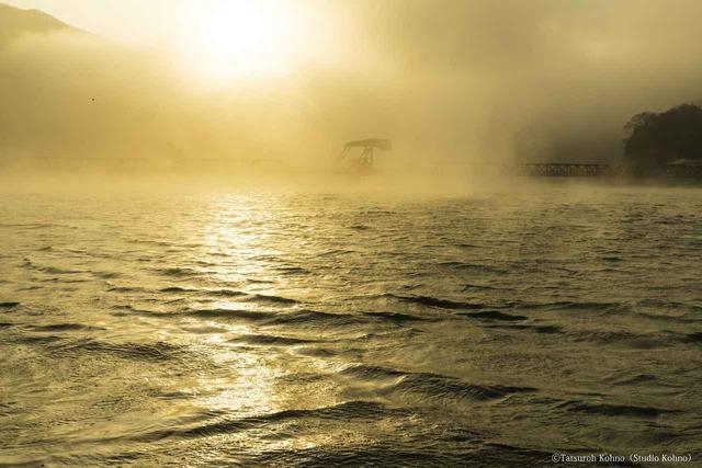 画像: 河口の赤橋(撮影/河野達郎)