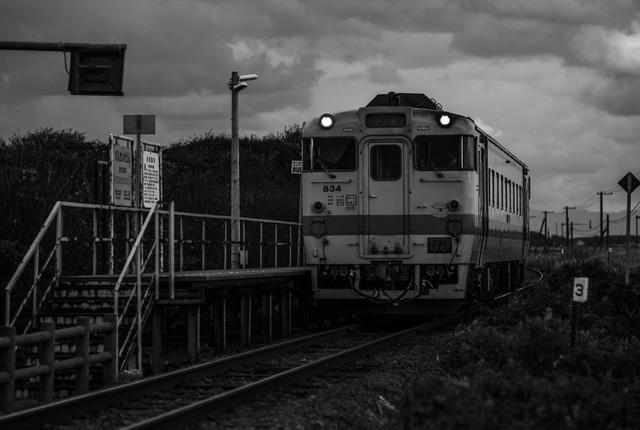 画像: 北海道ローカル線(撮影/杉山浩)
