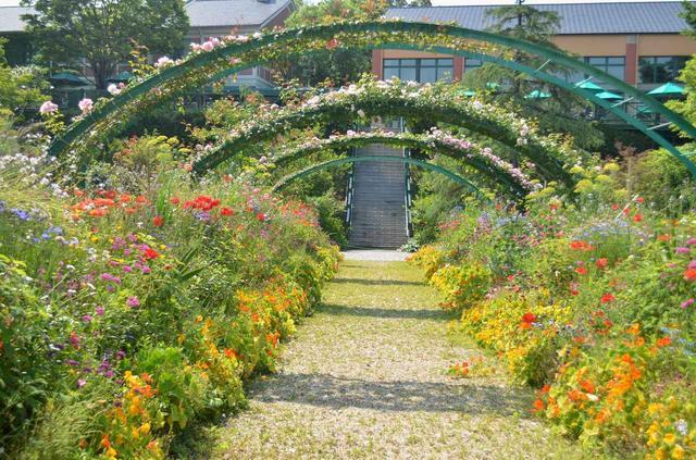 画像: モネの庭「花の庭」(イメージ)