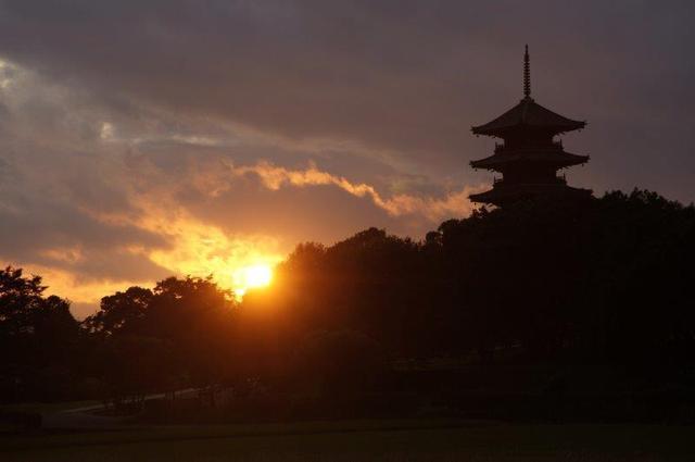 画像: 江戸時代に創建された旧閑谷学校と吉備津神社 備中国分寺の夕景 日帰り