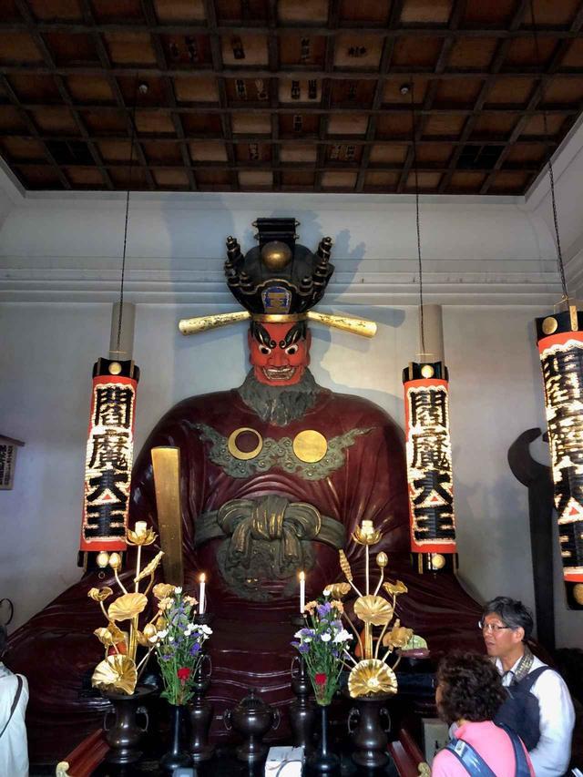 画像: 新宿・太宗寺の閻魔様
