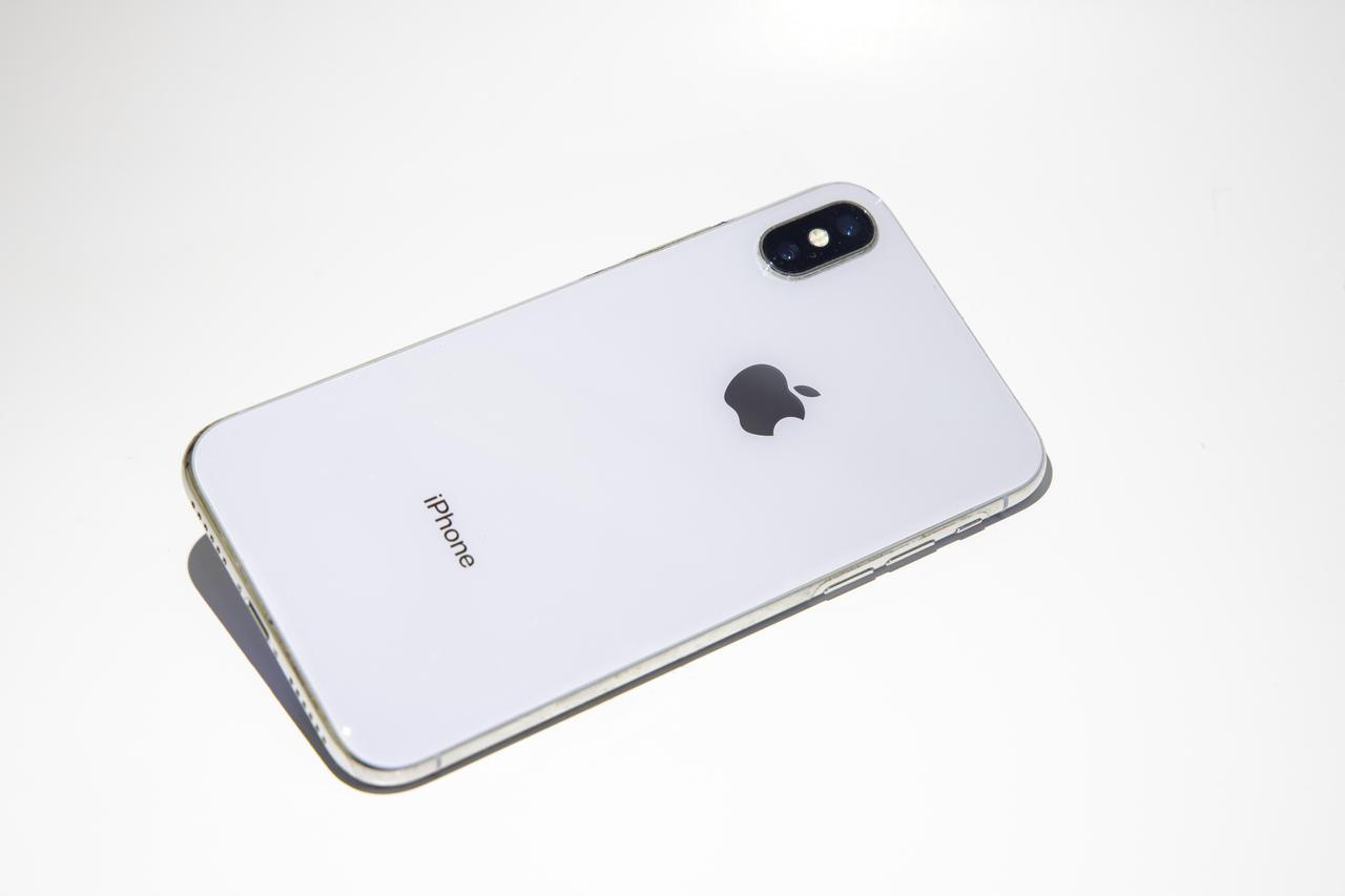 画像: 例) iphone X