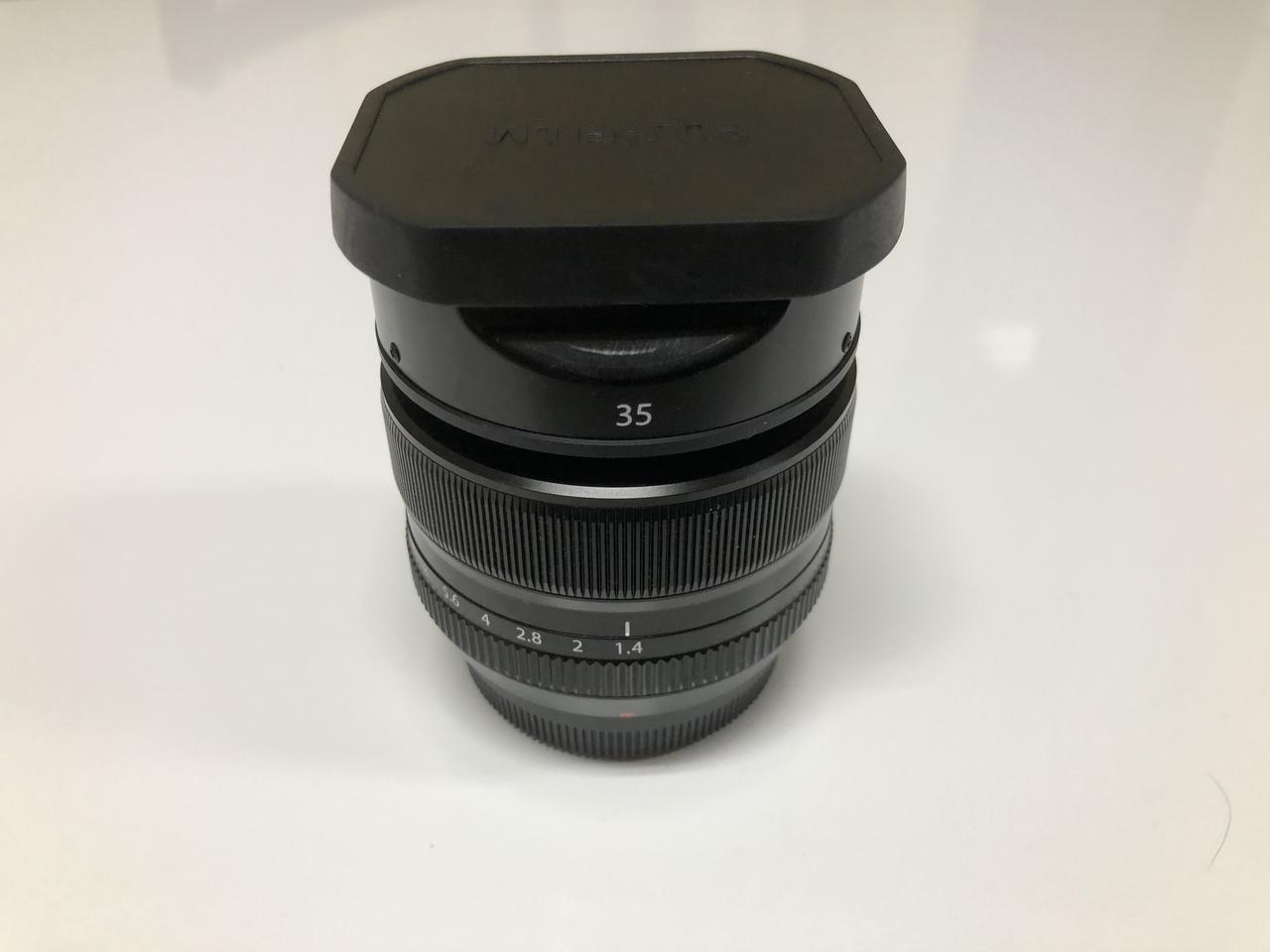 画像: 単焦点レンズ FUJIFILM XF35mmF1.4