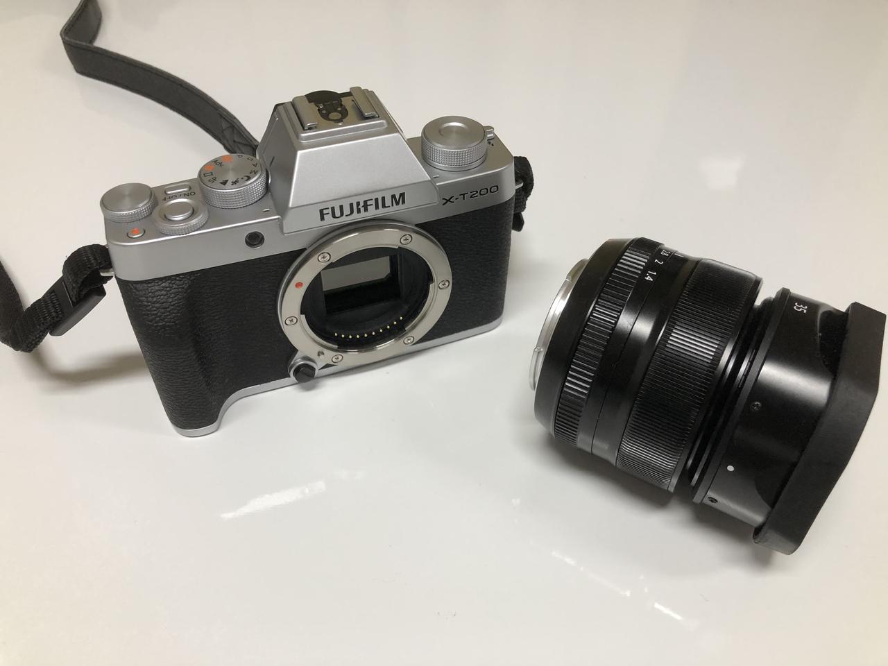 画像: ミラーレスカメラは本体とレンズどちらも必要です