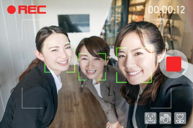 画像: 顔を認証して自動でピントを合わせてくれる瞳AF機能が付いているものも多いです