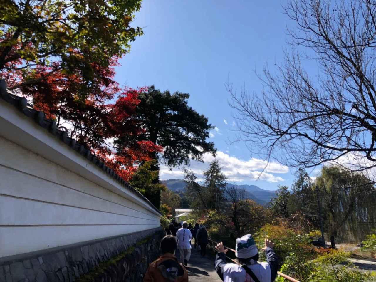 画像: 秩父12番札所 野坂寺付近を歩く