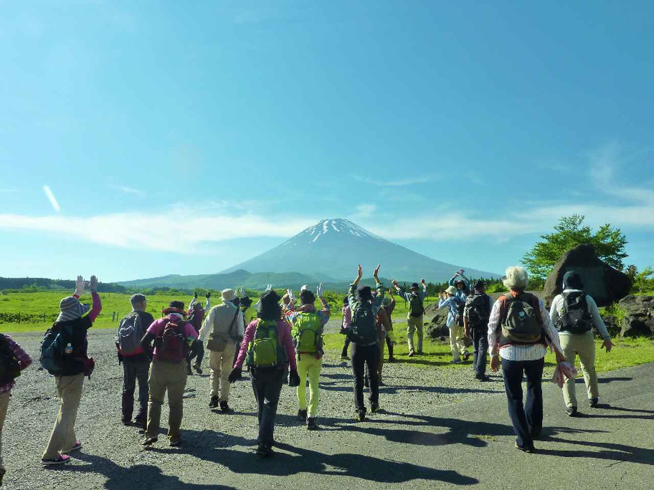 画像1: 【あるく・シリーズツアー】2017年9月スタート富士山すそ野ぐるり一周ウォーク 説明会が始まりました!