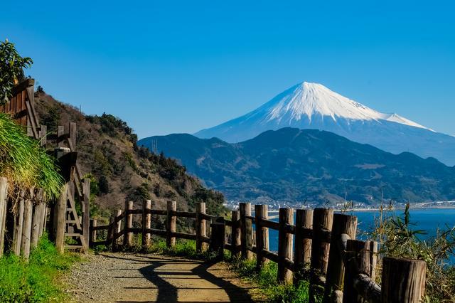 画像: 富士山を見据えるさった峠(第18回)