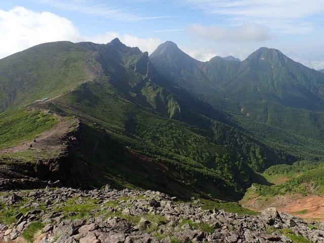 画像: 南八ヶ岳エリアの山々