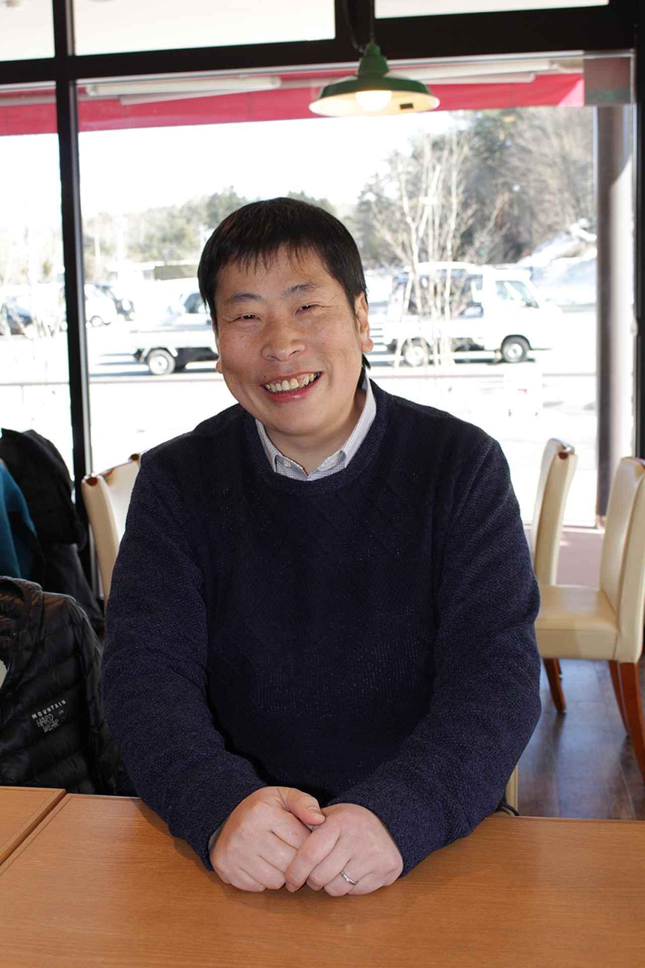 画像: オーレン小屋のご主人 小平岳男さん