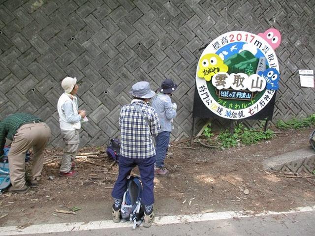 画像11: 【山旅会】雲取山から鴨沢
