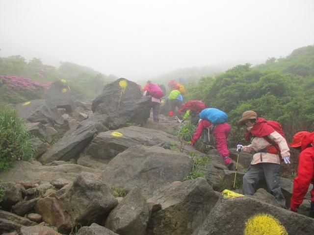 画像3: 【山旅会】九重山 その3