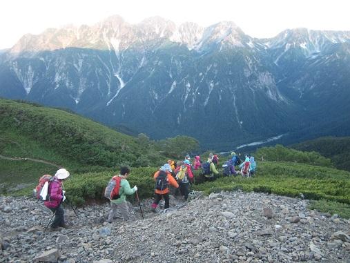 画像10: 【山旅会】蝶ヶ岳ツアーのご案内