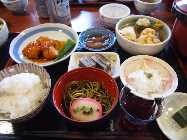 画像: 朝日小屋の夕食(イメージ)